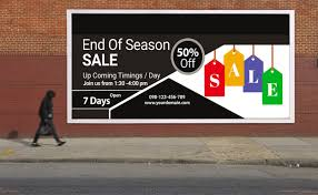 Free Signage Template Free End Of Sale Billboard Psd Template Free Psd Mockup