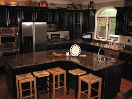 kitchens with black cabinets. Handpained And Distressed Black Kitchen Cabinetry Traditional-kitchen Kitchens With Cabinets
