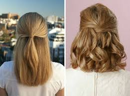 Image Coiffure Simple Femme Cheveux Mi Long Coiffure Cheveux