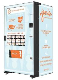 Mobile Ice Vending Machines Magnificent Port Columbus Adds Jeni's Splendid Ice Creams Vending Machines