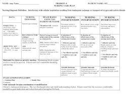 Adpie Charting Nursing Patient Care Plan Example Nursing Care Plan
