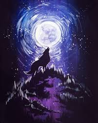 wolf howling at the moon. Exellent Wolf And Wolf Howling At The Moon A