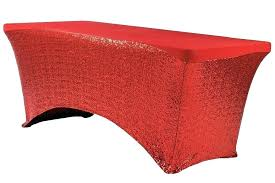 gingham plastic table covers red table cover glitz sequin spandex table cover 6 ft rectangular apple