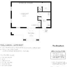 pool house plans with bedroom. Fine With Genuine Simple Pool House Floor Plans InteriorPlan Inside With Bedroom S