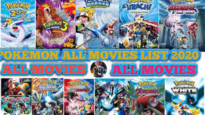 POKÉMON ALL MOVIES LIST 2020🤩 | INDIA ALL POKÉMON MOVIES LIST | POKÉMON  MOVIES