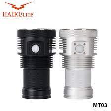 HaikeLite MT03 Đèn Pin LED XHP70.2 21000LM Cao Cấp Đèn Cắm Trại Đèn Pin Đèn  Khẩn Cấp Đèn|Vật dụng tự vệ