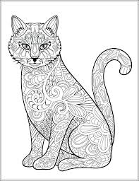 Cats And Dogs Coloring Pages Dogs Coloring Page Realistic Cat