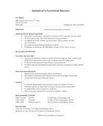 Combination Resume Sample Inspirational Sample Bination Resume