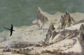 pieter bruegel the elder hunters in the snow winter article crow distant mountains detail pieter bruegel the elder hunters in the snow winter 1565 oil on wood 162 x 117 cm kunsthistorisches museum