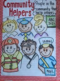 Community Helpers Chart My Community Helpers Anchor Chart February Community