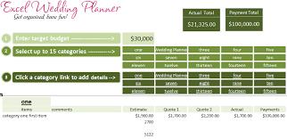 Wedding Budget Template Excel Shatterlion Info