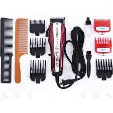 Tông đơ cắt tóc chuyên nghiệp có dây JAME 7502 công suất máy 10w
