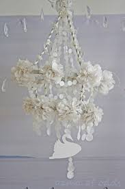 chandelier simple white paper ozma of odds a pretty pearl paper pajaki pajaki chandelier module 15
