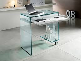 endearing glass office desks and black glass computer table and white desk