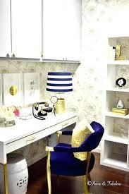 office room diy decoration blue. Office Room Diy Decoration Blue With Gold Decor Target And Supplies E
