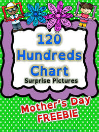 Mother Day Chart Math 120 Chart Mystery Picture Mothers Day Free