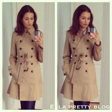 burberry inspired trench coat banana republic flared trench coat