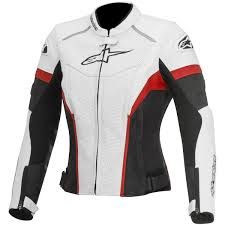 alpinestars stella gp plus r perforated womens jacket white red com