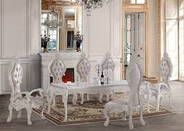 white dining room set formal. HD 13012 Dining Set Homey Design Victorian, European \u0026 Classic Design. Luxury RoomWhite RoomsFormal White Room Formal