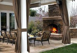 outdoors curtains patio outside best outdoor ideas on decorating interesting for also