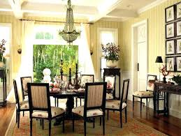 sublime chandelier over dining table height