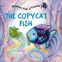 the copycat fish rainbow fish friends with 2 pages of stickers this book