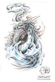 что означает татуировка китайский дракон эскиз и значение тату в