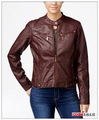 excellent 2018 walnut coats jou jou hs10 faux leather moto jacket juniors