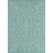 home depot outdoor rug bay indoor outdoor rugs home depot post coastal medallion blue rug