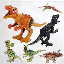 2019 <b>Jurassic</b> Period Dinosaur <b>Building Block</b> Tyrannosaurus And ...