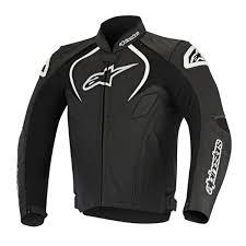 alpinestars jaws perforated leather jacket zoom