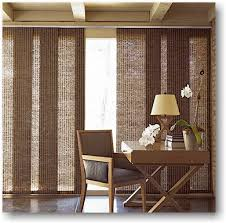 available in multiple fabric types and densities you can filter light and view or block it out completely these coverings are great for large
