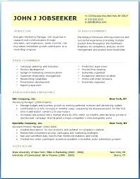 New Resume Format Free Download Free Professional Resume Template