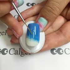 水面ネイルがすぐに作れるカルジェルを使ったドロップアートの作り方