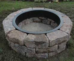 inspirational metal fire pit ring how to build a fire pit ring