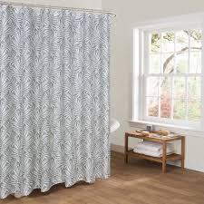 Bbj Grau Dusche Vorhänge Für Badezimmer Gedruckt Weiß Farbe Blätter