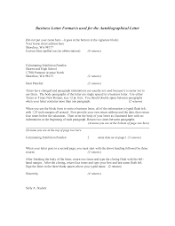 Standard Format Of Business Letter Hd Template Block Style In The