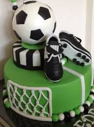 Soccerball Birthdaycake Bar Mitzvah In 2019 Soccer Birthday