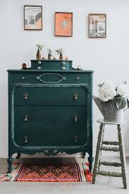 green painted furniture. New Amsterdam Green With Napoleonic Blue · Painted FurnitureChalk Furniture