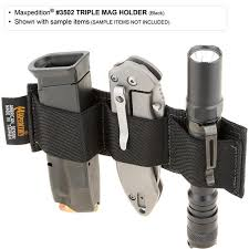 Handgun Magazine Holders Triple Mag Holder Maxpedition MAXPEDITION 34