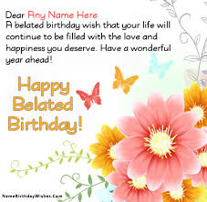 Birthday Greetings Download Free Amazing Free Birthday Cards With Name And Photo
