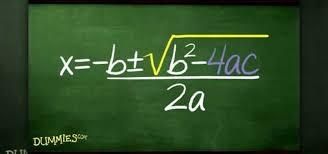 how to use the quadratic formula to solve algebraic equations math wonderhowto