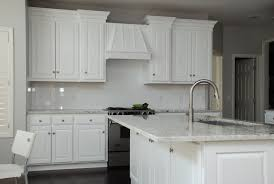 Transitional Kitchen Custom White Transitional Kitchen By Belak Woodworking Llc