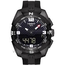men s tissot t touch expert alarm chronograph solar powered watch mens tissot t touch expert alarm chronograph solar powered watch t0914204705701