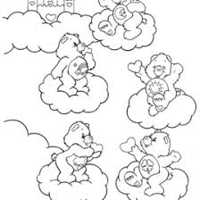Small Picture Coloring Page Care Bears Archives Mente Beta Most Complete