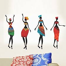 Small Picture Buy Decals Design African Women Wall Sticker PVC Vinyl 50 cm