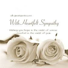 Condolences Quotes Inspiration Sympathy Cards Messages Of Condolence 48 Best Heartfelt Sympathy