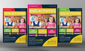 education poster templates kids school education flyer template by business templates on