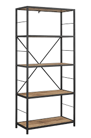 Glass shelves bookcase Crate Quickview Houzz Metal And Glass Shelving Unit Wayfair