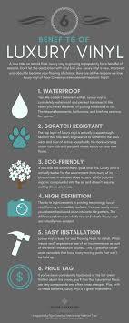 luxury vinyl tile infographic